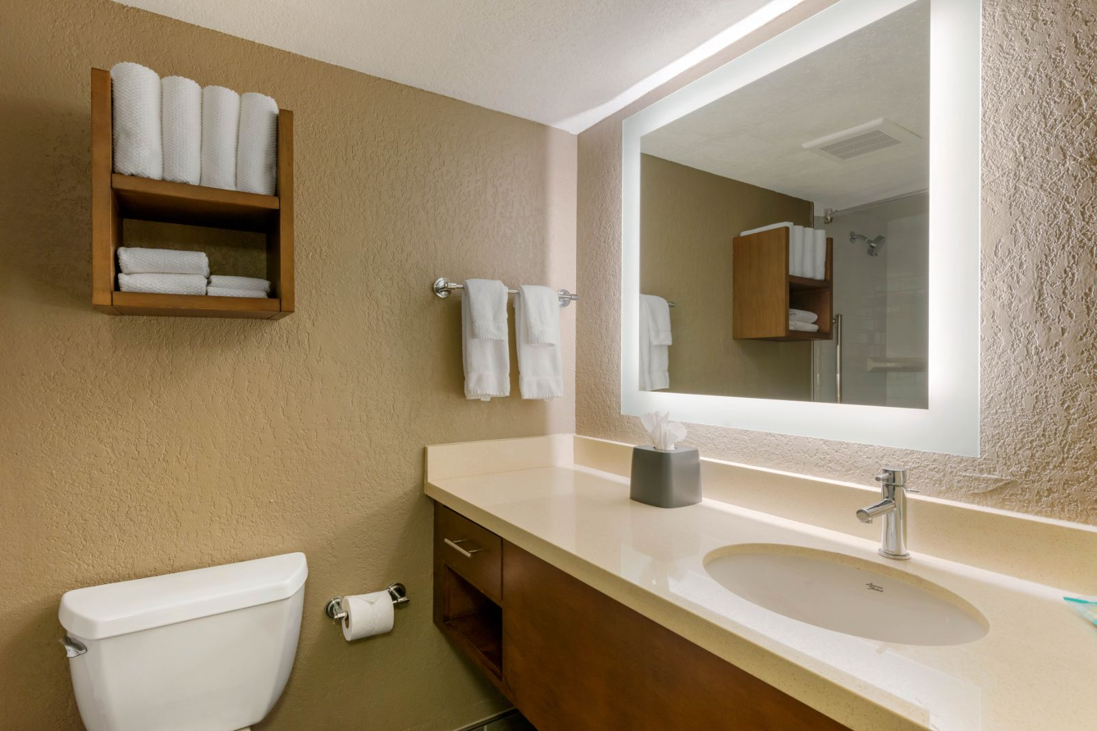 Inside one of our newly renovated suites in Orlando, Florida