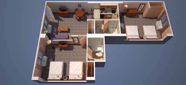 OFFICIAL SITE Orlando TwoBedroom Suites near Walt Disney World