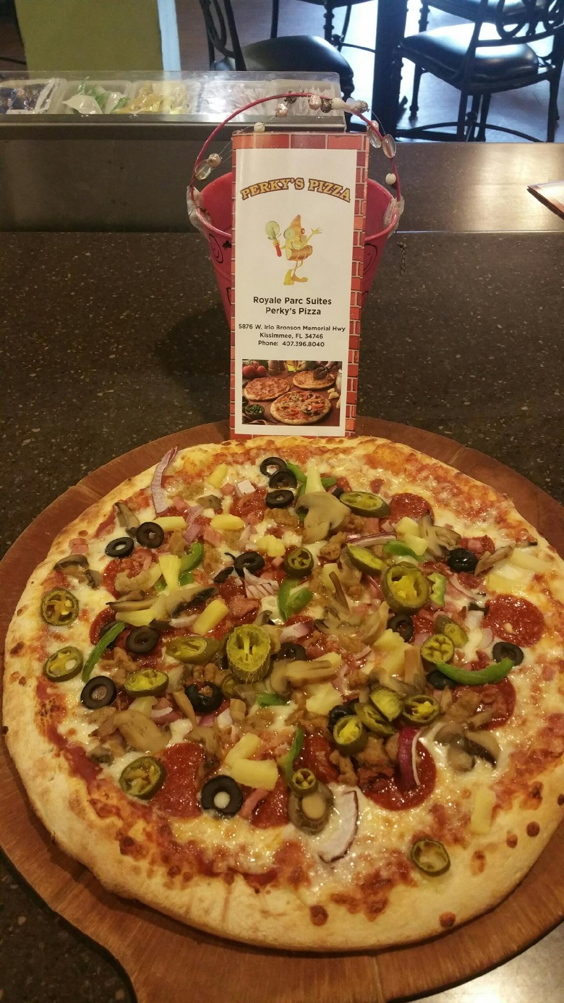 Perky's Pizza - casual family dining - Royale Parc Suites