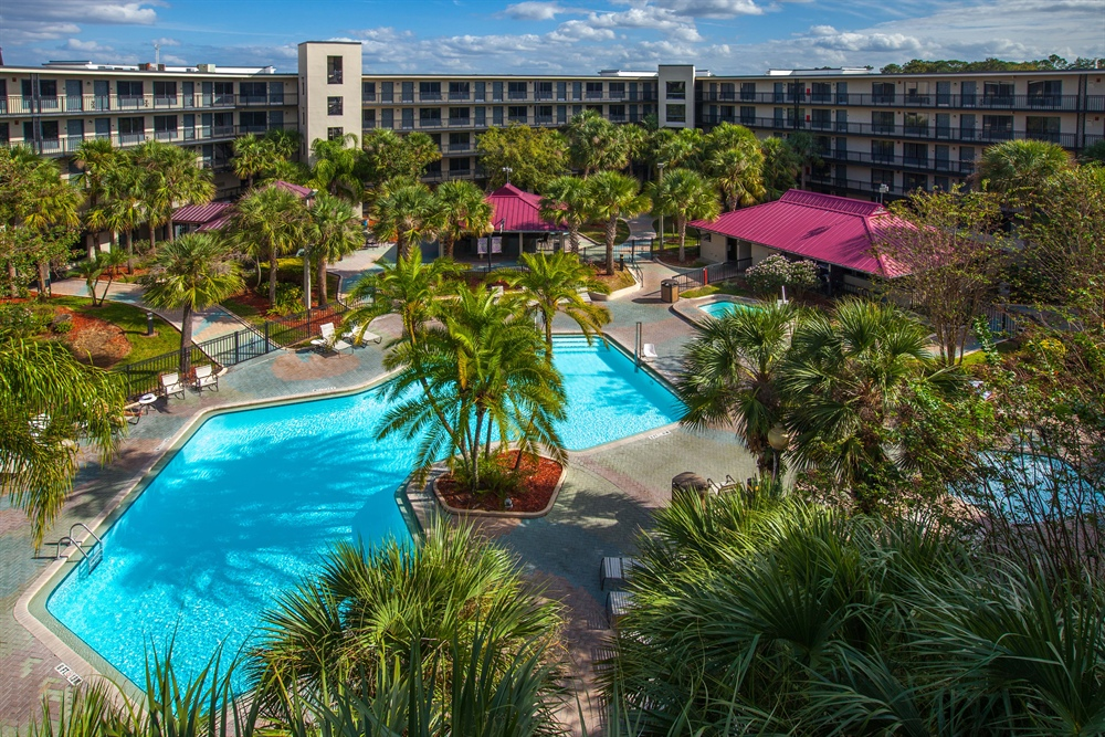 Royale Parc Suites in Kissimmee Arial View