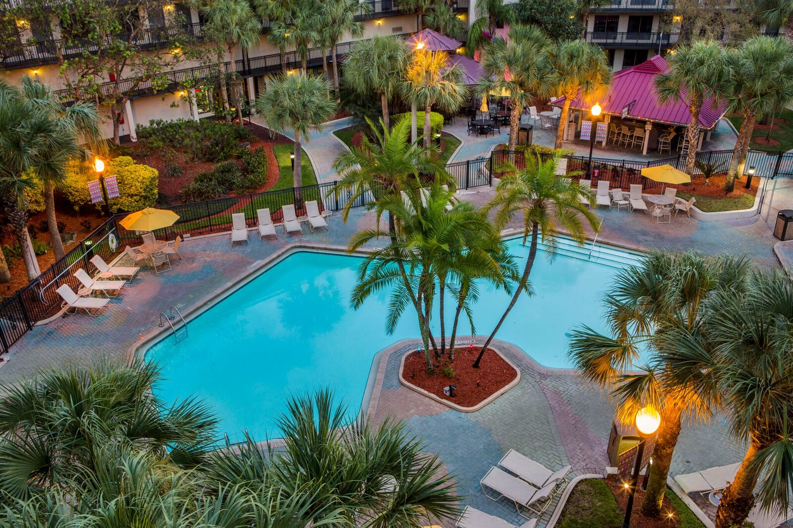Staybridge Suites Royale Parc Orlando Tropical Pool Area 2