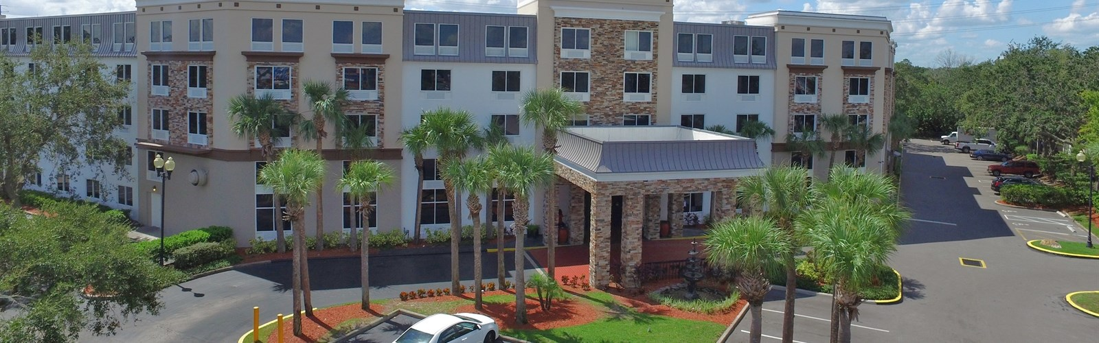 Exterior of our Disney Hotel in Kissimmee, FL